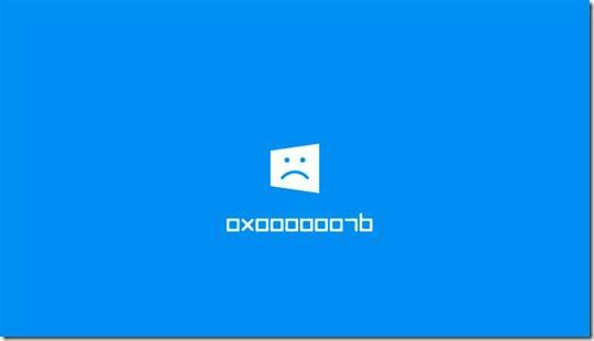 ошибка 0x0000007b windows 7 как исправить - Энциклопедия